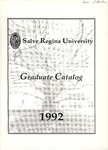 Salve Regina University Graduate Catalog 1992 by Salve Regina University