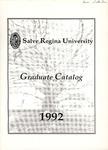 Salve Regina University Graduate Catalog 1992