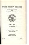 Salve Regina College Undergraduate Catalog 1960-1961