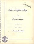 Salve Regina College Fifteenth Annual Commencement program, 1965