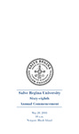 Salve Regina University Sixty-Eighth Annual Commencement program, 2018 by Salve Regina University