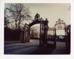 Exit gate of Ochre Court
