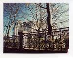 Fence around Ochre Court