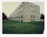 Back exterior windows of O'Hare Academic Center by Joseph Souza