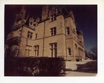 Ochre Court exterior during the night