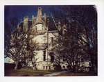 Ochre Court though trees by Joseph Souza