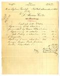 Duplicate bill from L. Alavoine Co. to Ogden Goelet by L. Alavoine Co.
