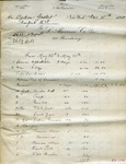 Invoice and receipts from L. Alavoine Co. to Ogden Goelet by L. Alavoine Co.