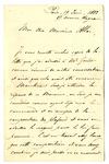 Letter from Saintpierre