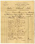 Estimate for Mrs. Goelet's room (Chambre de Madame)