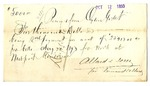 Receipt from Allard & Sons to Ogden Goelet (duplicate)