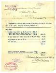 Invoice from Allard & Sons