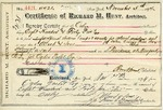 Receipt from Richard M. Hunt to Ogden Goelet by Richard Morris Hunt, Allard & Sons, and Jules Allard Fils