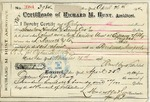 Receipt from Richard M. Hunt to Ogden Goelet, no. 3984 by Richard Morris Hunt and L. Marcotte & Co.