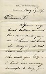 Invoice from George Donaldson to Ogden Goelet