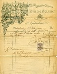 Receipt from Etienne Delaunoy to C. Raffard [sic]