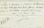 Receipt from E. Falise to Ogden Goelet