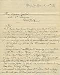 Letter from Paul Ruiile to Ogden Goelet