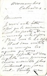 Letter from Charles Chaplin to Ogden Goelet