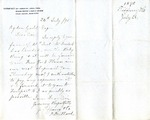 Letter from Tiffany & Co. to Ogden Goelet by Tiffany & Co. and F. Millard