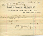 Receipt from Bowles & Roarke to Peter McCormick