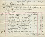 Receipt from Peter McCormick & Sons to Ogden Goelet
