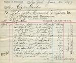 Receipt from Peter McCormick & Sons to Ogden Goelet