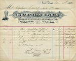 Receipt from Harkness Boyd to Ogden Goelet