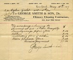 Receipt from George Smith & Son to Ogden Goelet