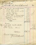 Receipt from James E. Seacord to Robt Goelet