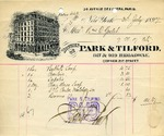 Receipt from Park & Tilford
