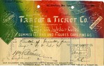 Receipt from the Tablet & Ticket Co.