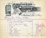 Receipt from M. Harrison & Son