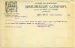 Note from Braumuller Company