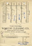 Receipt from The Vienna Window Cleaning Co.