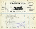 Receipt from Styles & Cash