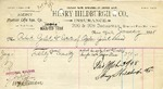 Receipt from Henry Hildburgh & Co.