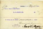 Receipt from E. Walker's Son
