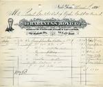 Invoice from Harkness Boyd