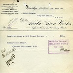 Receipt from Hecla Iron Works