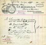 Receipt from F. Bontenakels
