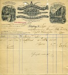 Invoice from Standard Underground Cable Co.