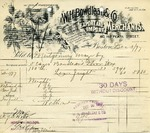 Receipt from W. H. Bowdlear & Co.