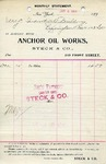 Receipt from Steck & Co.