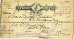 Receipt from E. P. Gleason Manuf'g Co.