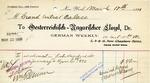 Receipt from Oesterreichisch-Ungarischer Lloyd