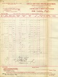 Receipt from City of New York-Finance Department