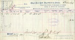Receipt from City of New York-Department of Finance to T. Firth