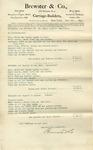 Estimate from Brewster & Co. to Ogden Goelet