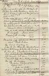 Invoice from Joseph F. Sabin to Ogden Goelet